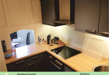 Küche - vor der Beklebung